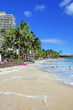 Waikiki Beach, Honolulu, Oahu, Hawaii..