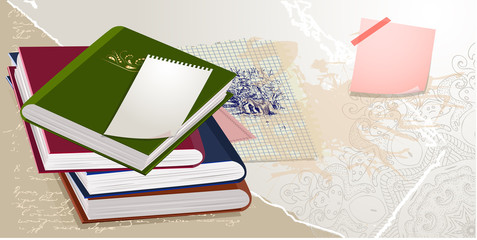 scrapbook collection of books