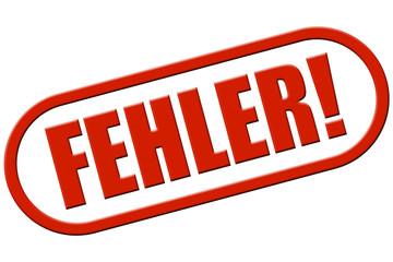 Stempel rot rel FEHLER!