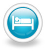 "Light Blue Icon ""Hotel / Lodging"""