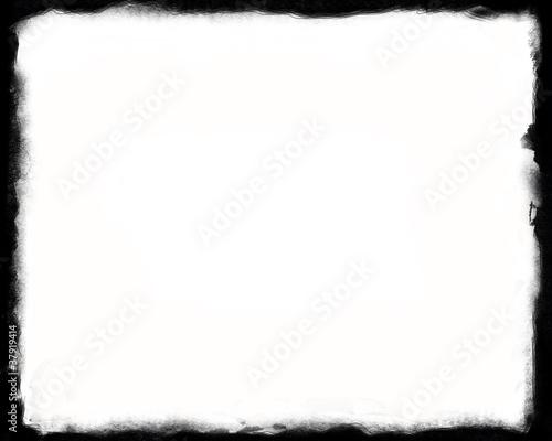 Leinwanddruck Bild Unique Black and White border