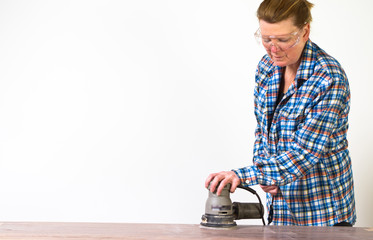 Re-finishing a table