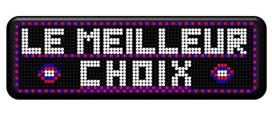 PANNEAU A LEDS LE MEILLEUR CHOIX