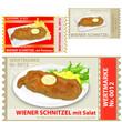 essensmarke wiener schnitzel mit und ohne beilage