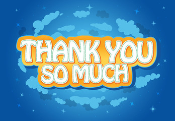 Thank You Message Note Card