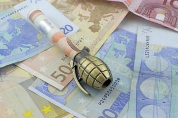 Racket ed usura - Crisi dell'Euro - finanziamento del terrorismo