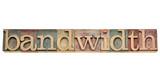 bandwidth - internet concept poster