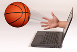 Basketball Out Of Computer.