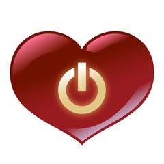 Glassy Heart Powered Up
