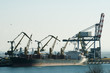 Commercial port cranes