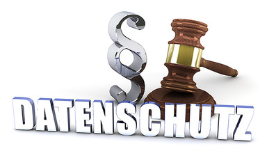 Datenschutz - Paragraph - Richterhammer