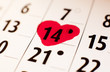 14 février date de saint Valentin