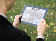 Reading News On Tablet PC