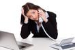 nerviges telefongespräch