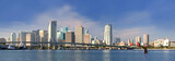 Fototapety Miami Florida panorama of downtown buildings