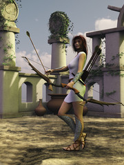 Artemis the huntress
