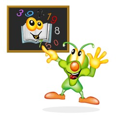 grillo insegna matematica
