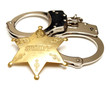 Sheriff Badge and Handcuffs