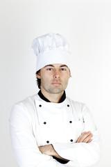 Koch in Berufsbekleidung