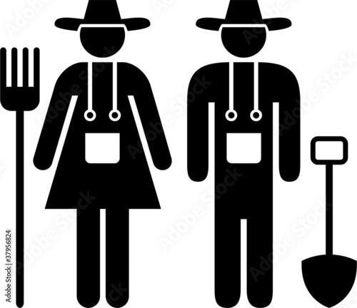 farmer pictogram