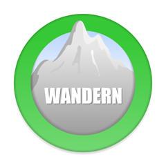 symbol berge wandern I