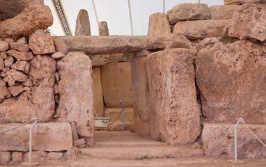 Mnajdra neolithic temples. Malta