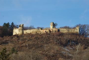 fortress of Saschiz, Mures, Romania