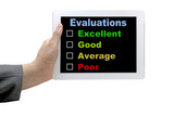 Performance Evaluation Audit Checklist poster