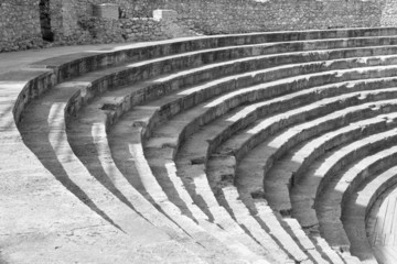 Old amphitheater in Ohrid