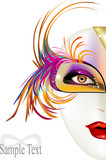 Maschera Carnevale - donna