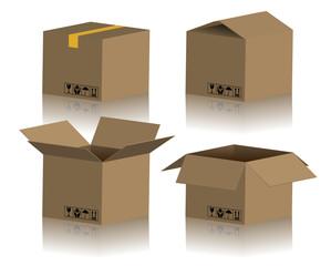 Cardboard Box Package