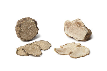 Black and white truffle