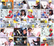 Professional Occupations Collage