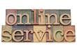 online service - internet concept