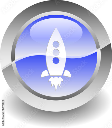 Rocket shiny icon