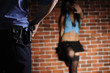 Police officer delay prostitute