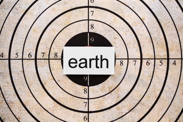 Earth target