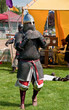 MOUNT VERNON, WA - JULY 9 - Scottish Highland Games Medieval Kni