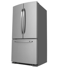 Three Door Refrigerator facing left