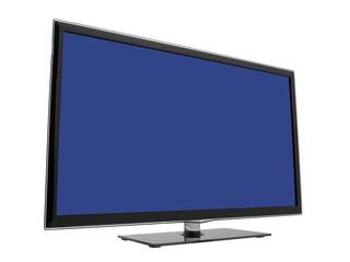 Modern HDTV facing right