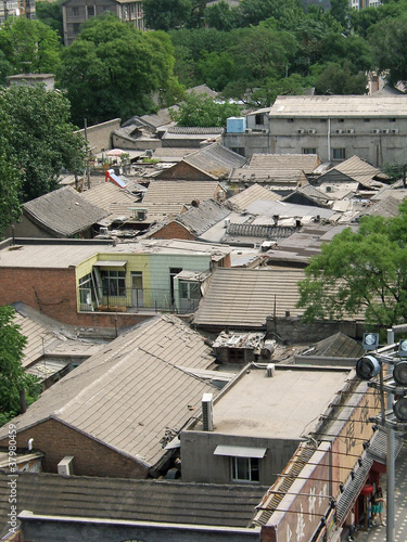 Hutong Rooftops, Beijing, China, 2007.