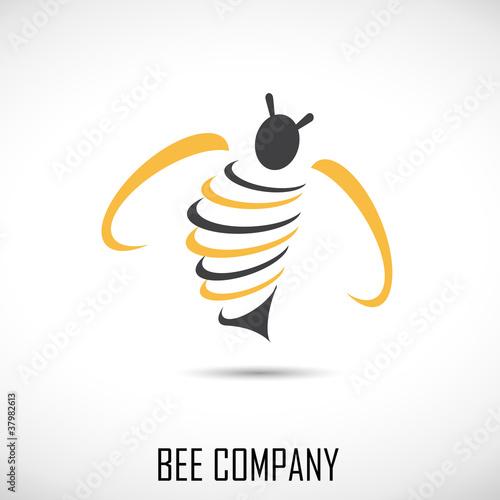 Logo Bee Company # Vector