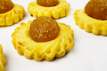 Pineapple biscuit