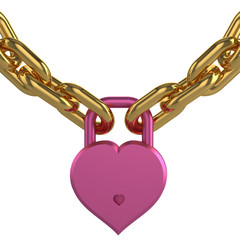 Heart in captivity