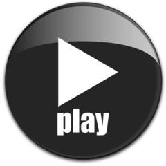 """Button """"play"""" mit Aufschrift """"Play"""" in schwarz"""