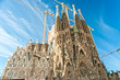 la sagrada Familia, Barcelona, spain.