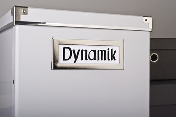 Kiste voller Dynamik