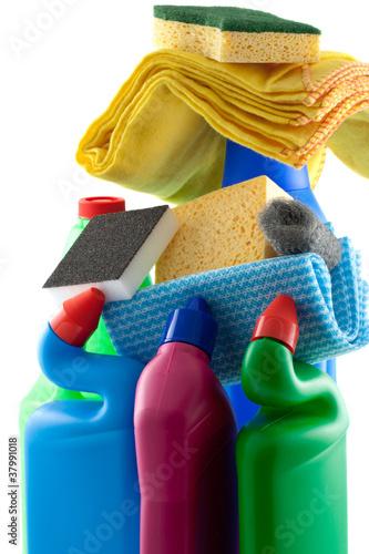 Produits d 39 entretien maison photo libre de droits sur la - Produits d entretien maison ...