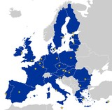 Fototapety European Union Map