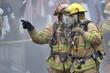 Leinwanddruck Bild - Firemen
